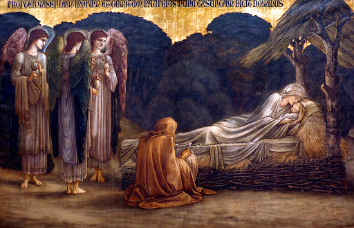 Nativity, Edward Coley Burne-Jones,1888