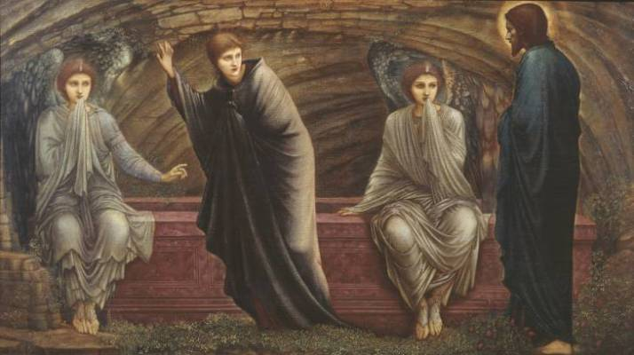 The Morning of the Resurrection, 1886 -- Sir Edward Coley Burne-Jones